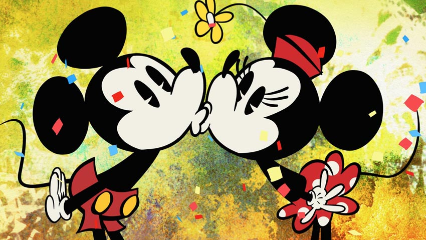 Minnie-and-Mickey-Mouse-kissing